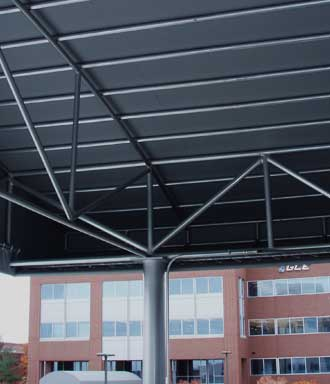 Frame and Awning