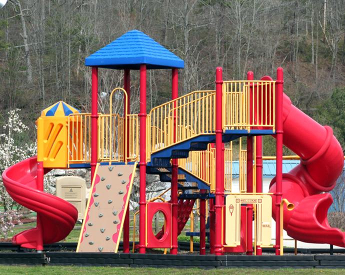 Playground Tubing